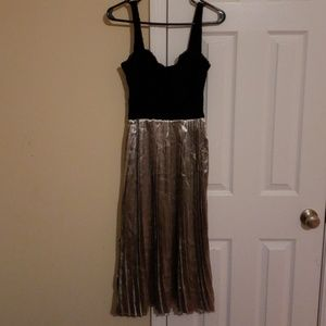 Motel Rocks Pleated Party Dress